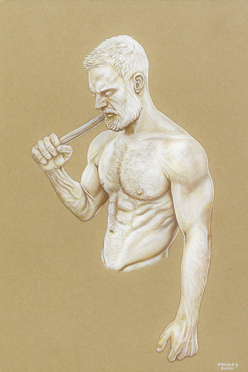 Statue Elliot A4 Print