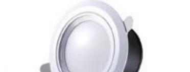 """LED Downlight 4"""" 8W 4000K Metallic"""