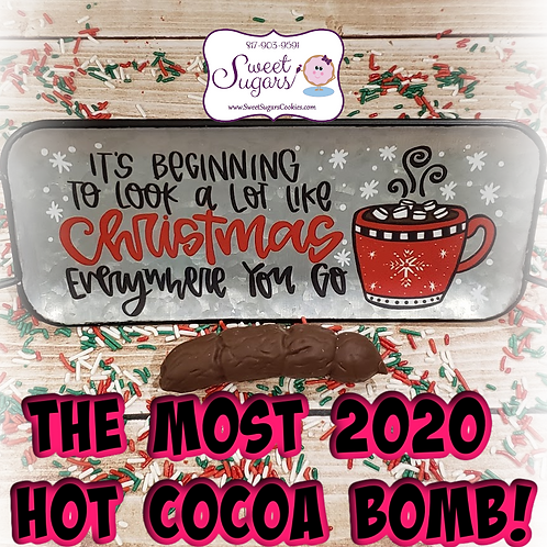 The 2020 Hot Cocoa Bomb Gag Gift *NO SHIPPING*
