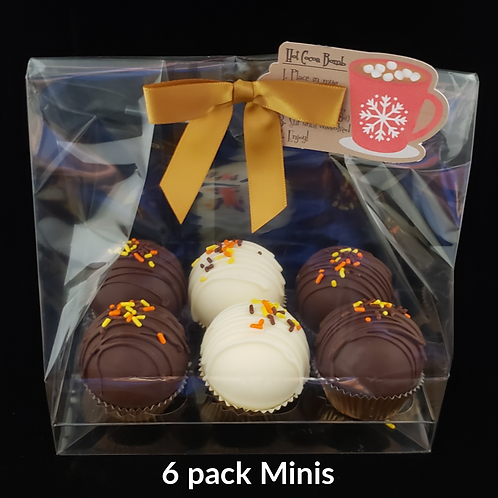 6 Pack MINI GOURMET Hot Cocoa Bombs (save $3) *NO SHIPPING*