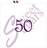 """""""50"""" Silkscreen Stencil"""