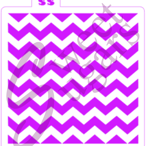 Chevron Traditional Stencil