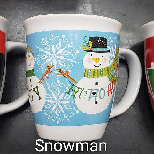 Snowman Mug with Hot Cocoa Bomb  *NO SHIPPING