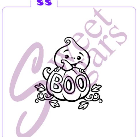 (WS) Boo Ghost Paint Your Own (PYO) Silkscreen Stencil