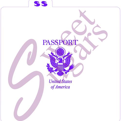 Passport Silkscreen Stencil