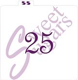 """""""25"""" Silkscreen Stencil"""