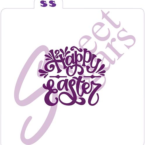 Happy Easter Silkscreen Stencil