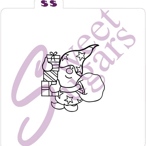 Gnome with Presents PYO Silkscreen Stencil
