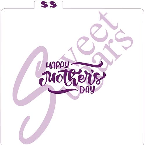 Happy Mother's Day Silkscreen Stencil