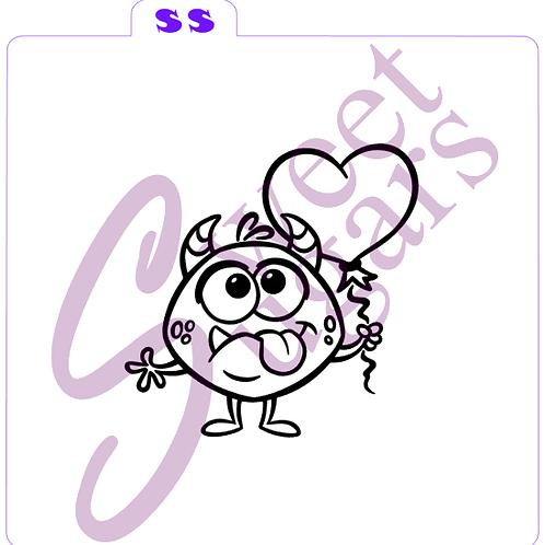 (WS) Sassy Monster Lover PYO Silkscreen Stencil
