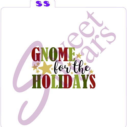 Gnome for the Holidays 5 piece Stencil Set