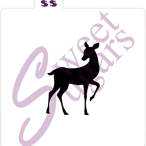 Doe / Deer Stencil - Traditional or Silkscreen