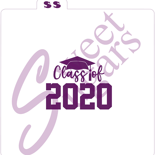 Class of 2020 Graduation Silkscreen Stencil
