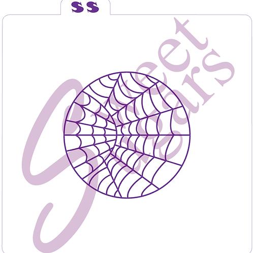 Double Spiderweb Silkscreen Stencil