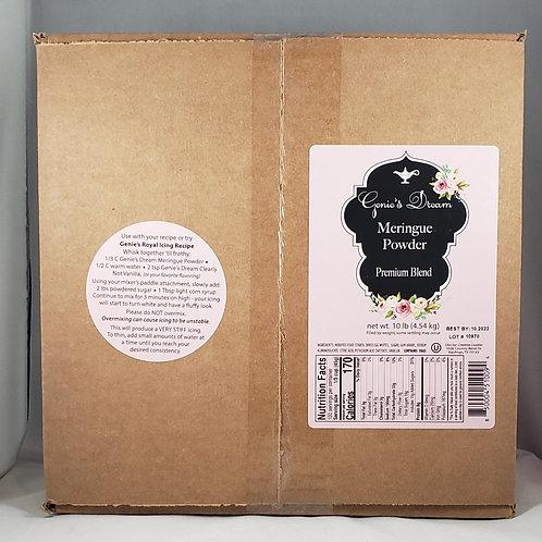 10 lb. Bulk Box Genie's Dream Meringue Powder