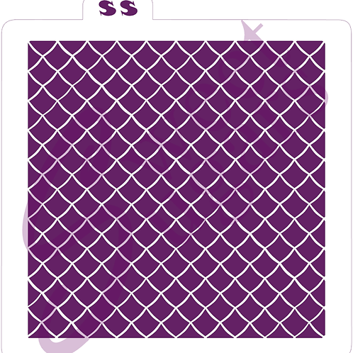 Tight Basketweave or Net Background (Highlight) Silkscreen Stencil