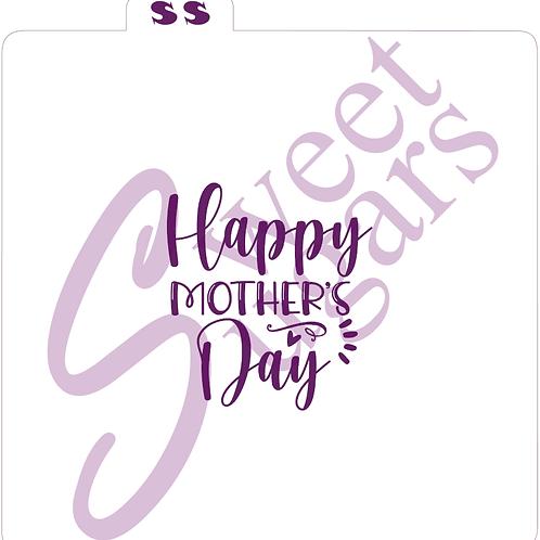 (WS) Happy Mother's Day Silkscreen Stencil
