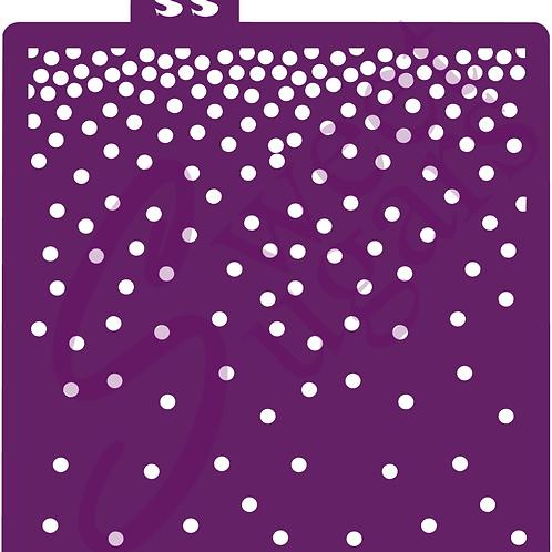 DOWNLOAD ONLY - Dot Confetti Stencil