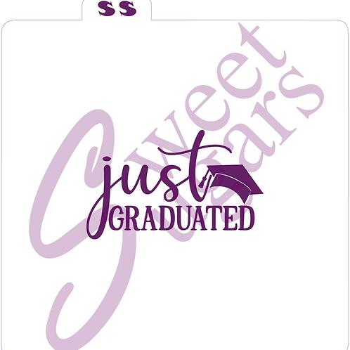 (WS) Just Graduated Silkscreen Stencil