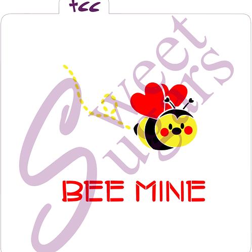 Bee Mine 3 part Stencil Set - Traditional or Silkscreen