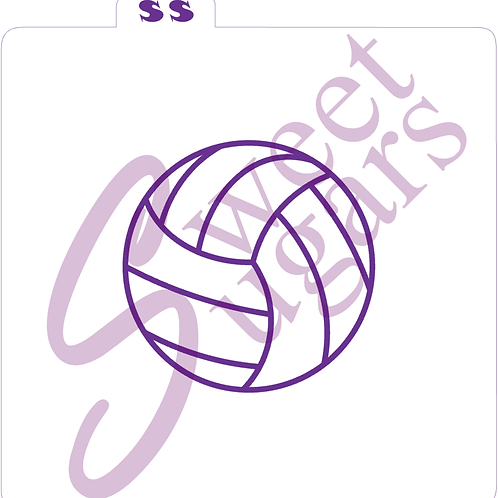 Volleyball Seams Silkscreen Stencil - Multiple Sizes Available