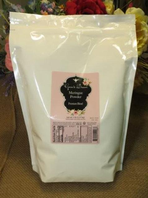 Genie's Dream Premium Meringue Powder (5#) NEW 5# Poly Pouch