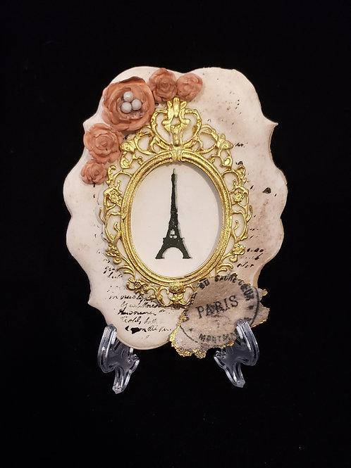 *SAVE $8.25* Vintage Parisian Bundle - Stencil, 2 Molds, Wafer Paper Sheet