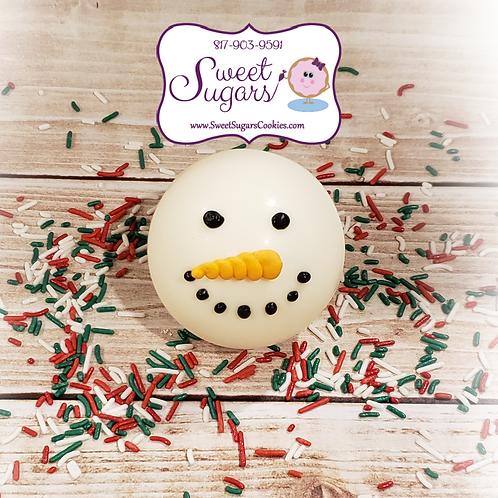 Snowman Hot Cocoa Bomb - Regular *NO SHIPPING*
