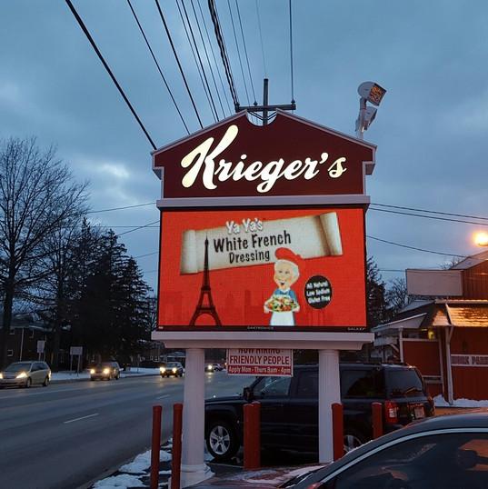 Krieger's Features Yaya's Salad Dressings