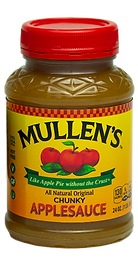 Mullen's Original Chunky Applesauce