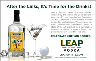 Leap Premium Vodka Seasonal Ad