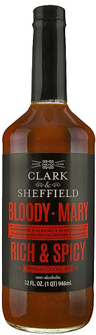Clark and Sheffield Rich & Spicy Bloody Mary Mix.