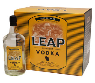 Leap Premium Vodka Label and Carton Design