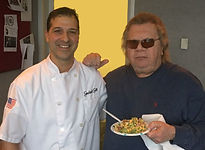 Radio Host Mike Trivisonno and Chef Mark Graziani.