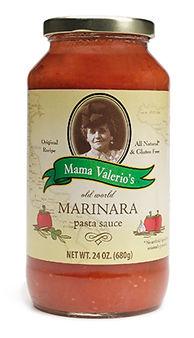 Mama Valerio's Marinara Sauce Vanderbosch Graphic Design