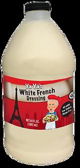 Yaya's 64 ounce White French Dressing