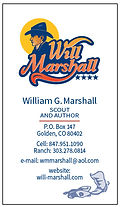 Will Marshall Business Card Design Vanderbosch Graphic Design.