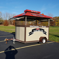 Street Treats Grill Cart