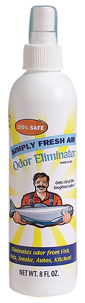 Simply Fresh Air Odor Eliminator Vanderbosch Graphic Design