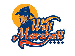 Will Marshall author logo Vanderbosch Graphic Design