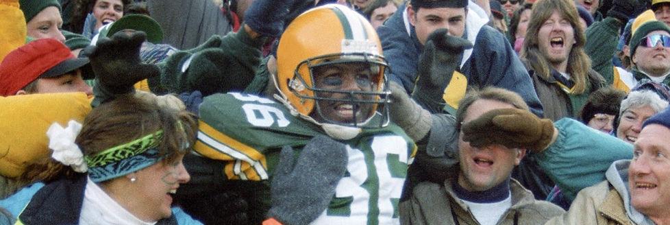 Roy Butler December 26, l993 Lambeau Leap