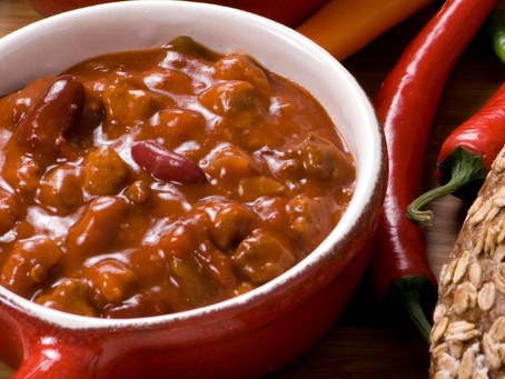 Chili Con Not So Carne