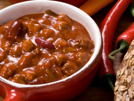 Chili Con Not So Carne