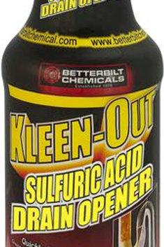 Kleen-Out - Sulfuric Acid Drain Opener
