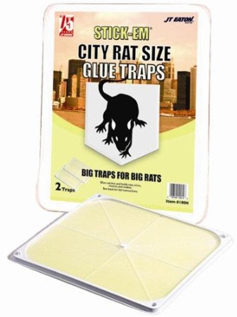 JT Eaton -Stick-Em City Rat and Mouse Glue Traps