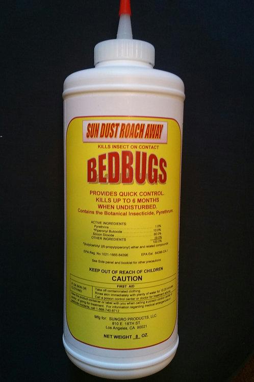 Sun Dust Roach Away - Bed Bugs