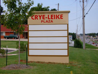 Crye-Leike Monument Sign