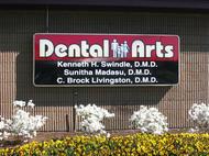 Dental Arts Cabinet Sign