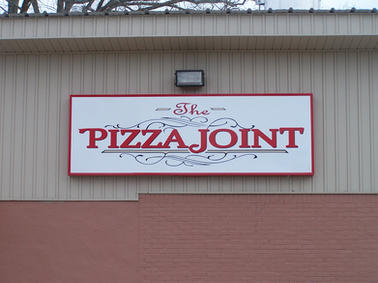 Pizza Joint Cabinet Sign