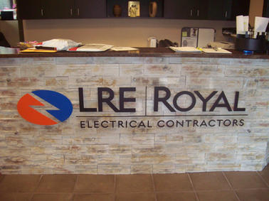 LRE Interior Letters